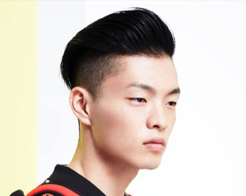 Asian Pompadour Haircut For Men