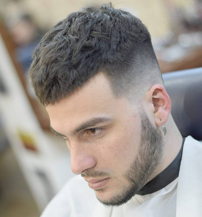 Caesar Haircut For Men