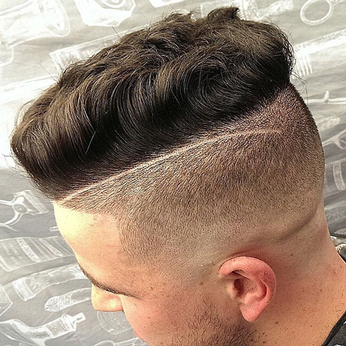Disconnected Undercut with Textured Spiky Hair