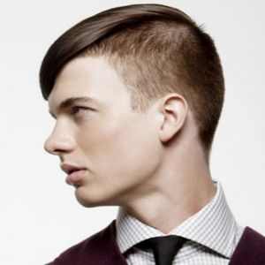 Forward Swept Undercut hairstyle for men