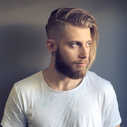Long Undercut Hairstyle for men