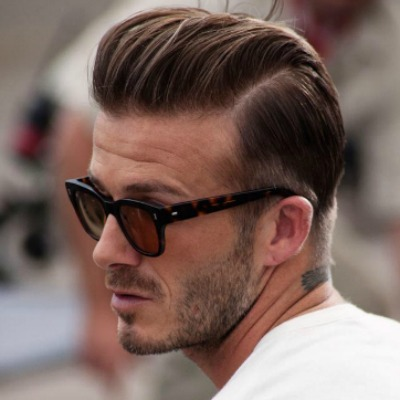 Modern Slicked Back Haircut