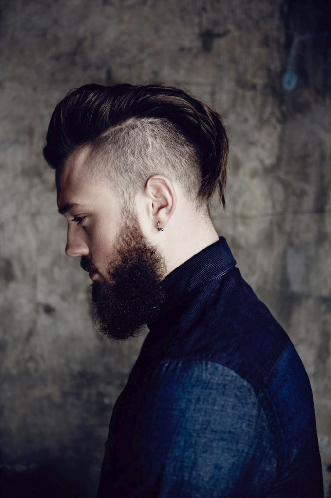 Mohawk Inspired Undercut Hairstyle For Men