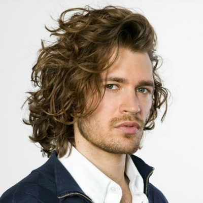 Perm Curl haircut for men