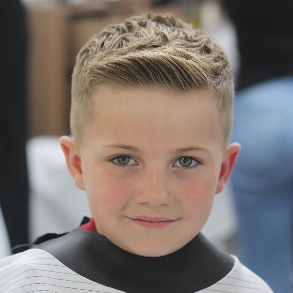 Short Haircut for Boys