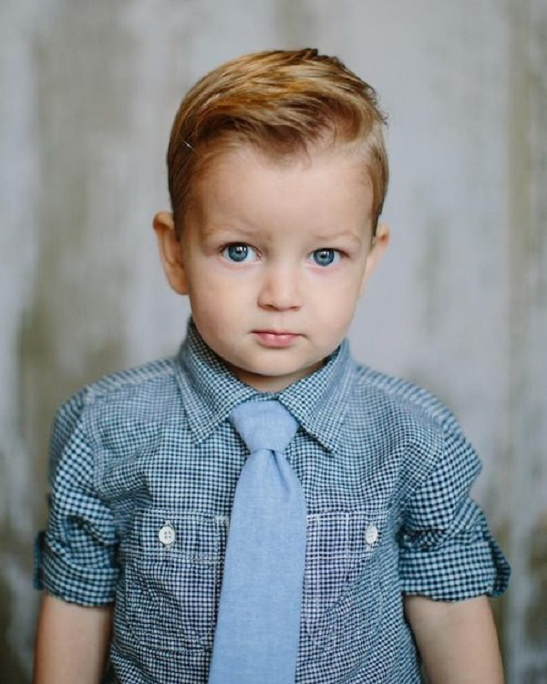 Short Pompadour Haircuts for kids