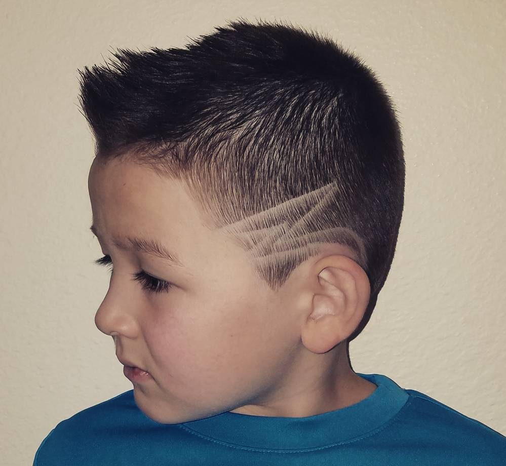 Short Spiky Haircut for Boys