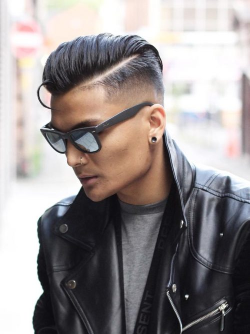 Side Swept Undercut Hairstyle