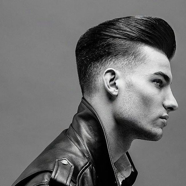 Tapered Sides Undercut