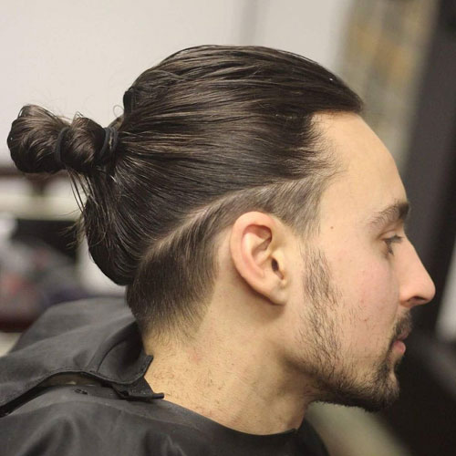 The Man Bun With Disconnected Undercut