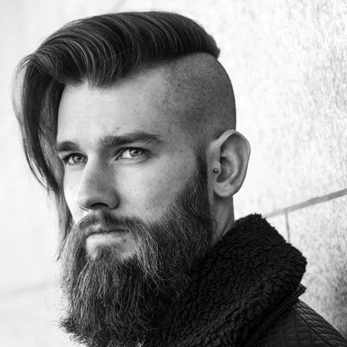 cool long hairstyle for men