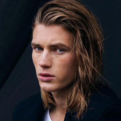 hairstyle for men for long hair