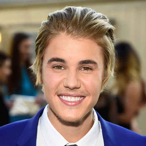 Justin Biebers Short Hairstyle The Slick Back And Quiff