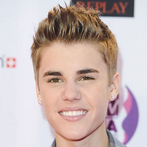 Justin Bieber Hairstyles Spiky Hair
