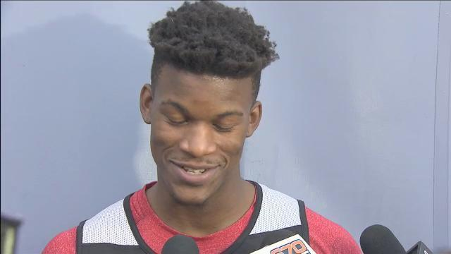 Layers Cut Jimmy Butler Haircut