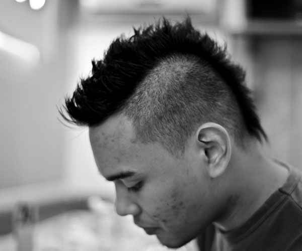 Mohawk Fade Haircut for Men