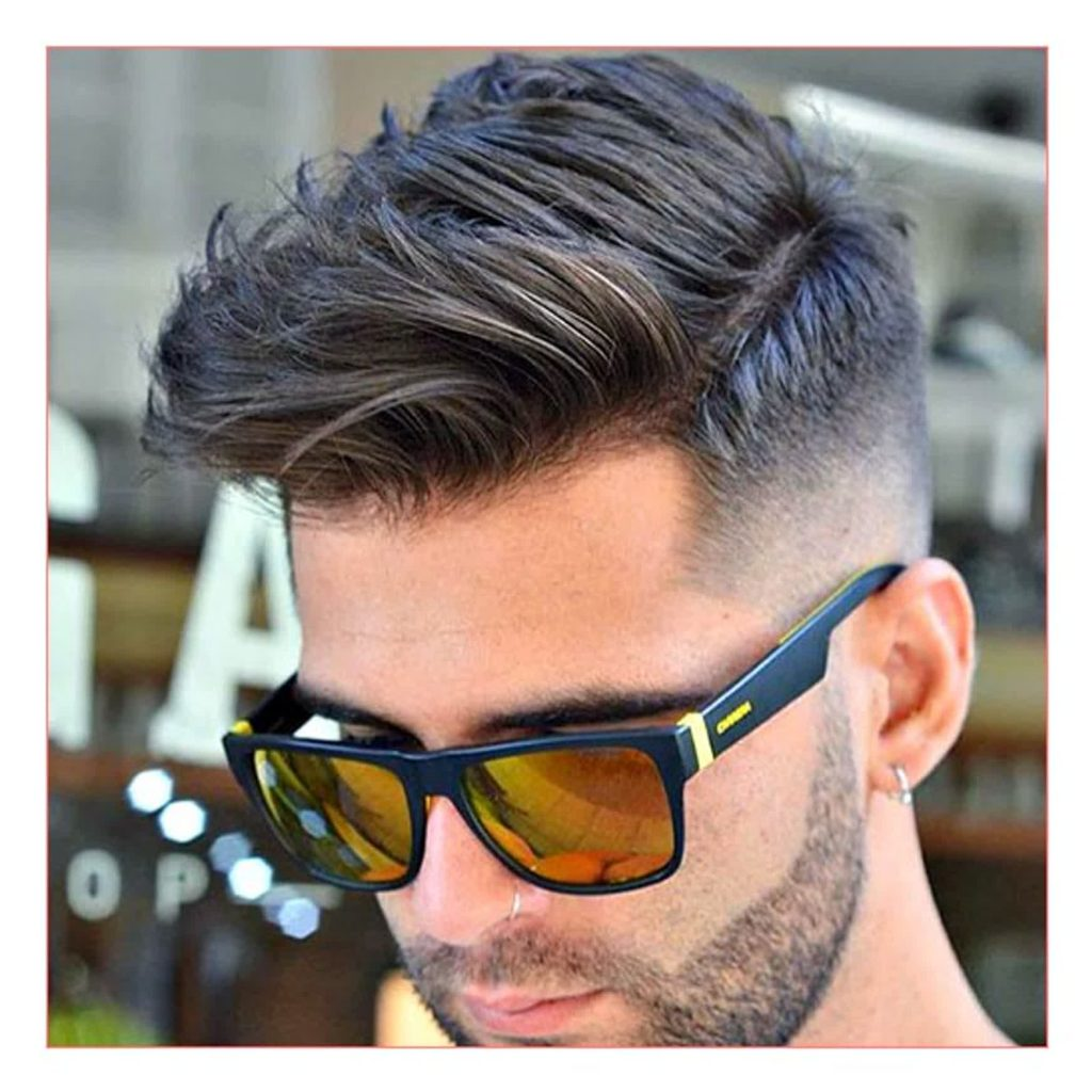 Side-Swept Mohawk Haircut For Men