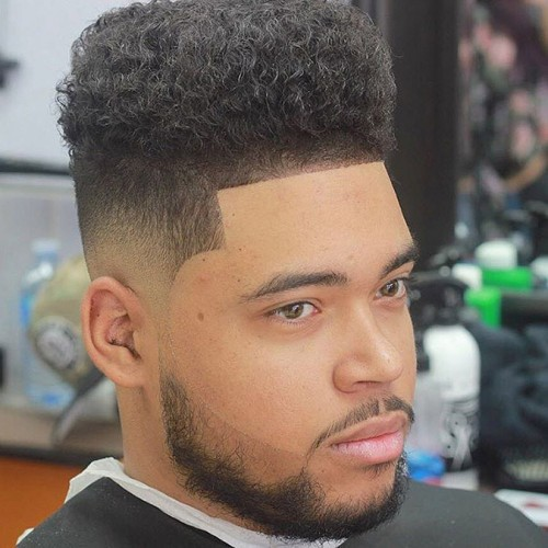Afro Taper Fade