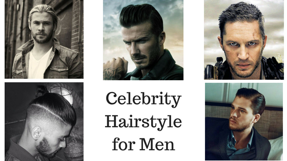 Celebrity Hairstyle for Men