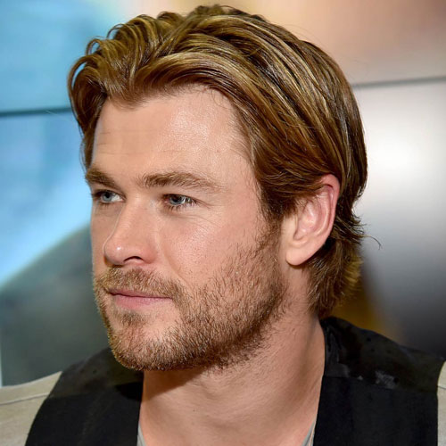 Chris Hemsworth Stylish Haircut