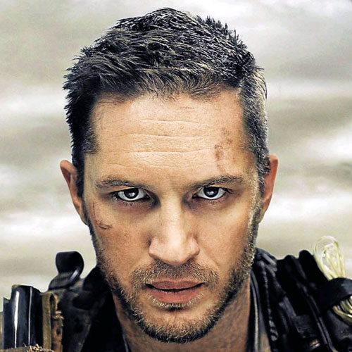 Tom Hardy Mad Max Fury Road Hairstyle