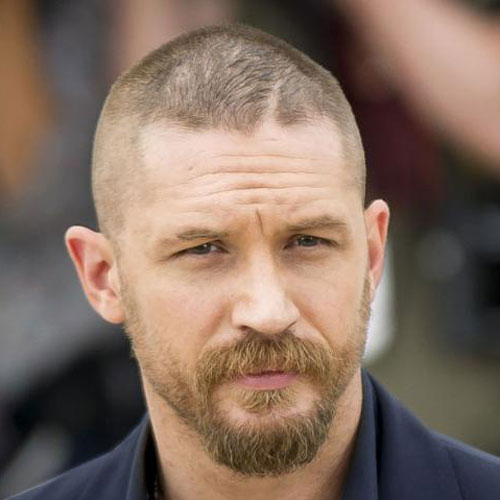 Tom Hardy Shaved Head Style