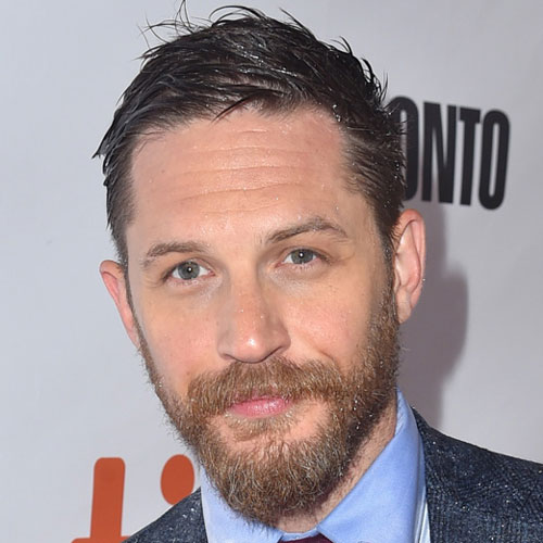 Tom Hardy celebrity Haircut