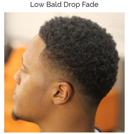 Low Bald Drop Fade