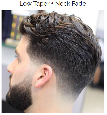 Low Taper with Neck Fade