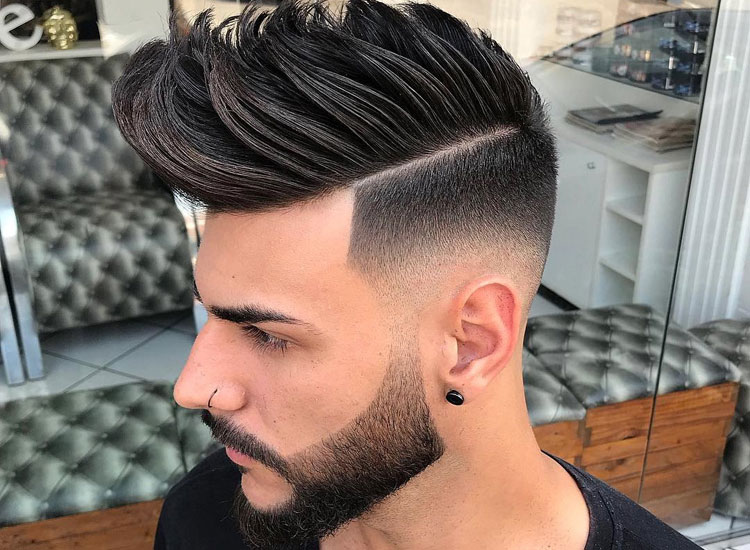 Medium Haircut For Men