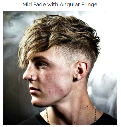Mid Fade with Angular Fringe