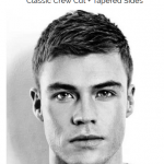 Men's Crew Cut Hairstyle 2021