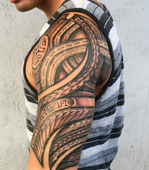 Hawaiian Tattoos - Best Tribal Tattoo for Men