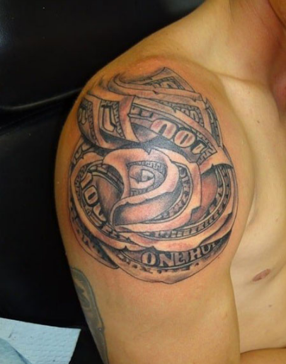 Money Tattoo for Men