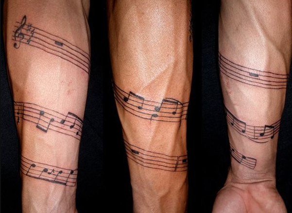 Music Tattoo for Men