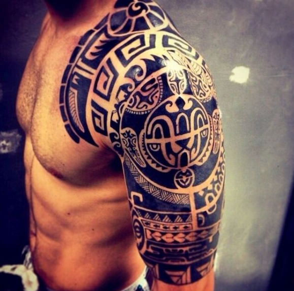 Shoulder Tattoos for Men